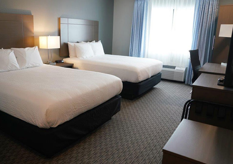 Executive 2 Queen Bed at Brookstone Inn & Suites Fort Dodge, Iowa