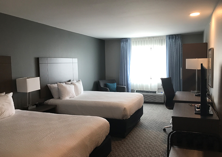 Deluxe 2 Queen Bed at Brookstone Inn & Suites Fort Dodge, Iowa